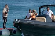 Paris Hilton - At the beach in Mykonos 7/10/18
