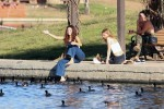 Selena Gomez at Lake Balboa park in Encino 02/02/2018bfe2c8737644183
