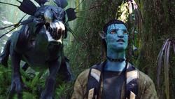 Аватар / Avatar (Сэм Уортингтон, Зои Салдана, Сигурни Уивер, 2009) 671c751091452414