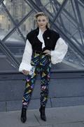 Chloe Grace Moretz - Louis Vuitton Fashion Show in Paris 3/5/19