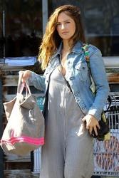 Minka Kelly - Grocery shopping in LA 6/28/18