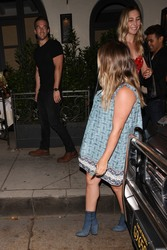 Hilary Duff - Out for dinner in Beverly Hills 8/24/18