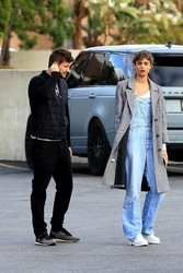Taylor Hill - Out in Beverly Hills 3/5/18