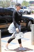 Khloe Kardashian - Out for lunch in Woodland Hills 6/20/18