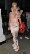 Rita Ora - 64th Evening Standard Theatre Awards in London 11/18/18