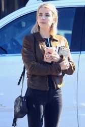 Emma Roberts - Out in Beverly Hills 1/26/18