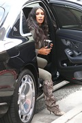 Kim Kardashian - Out for lunch in Sherman Oaks 1/7/19