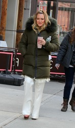 Hilary Duff - On the set of 'Younger' in NYC 3/6/19