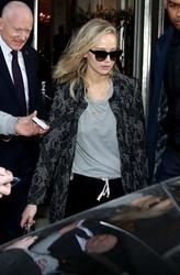 Jennifer Lawrence -Leaving her hotel in London 2/22/18