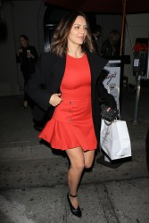 Katharine McPhee - Leaving Craig's in West Hollywood 2/2/18