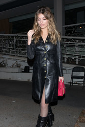 Camila Morrone - Leaving Madeo restaurant in West Hollywood 2/28/18