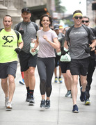 Katie Holmes - Westin Hotels & Resorts Run in NYC 6/6/18
