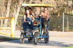 Selena Gomez at Lake Balboa park in Encino 02/02/20188e1a7e737644893
