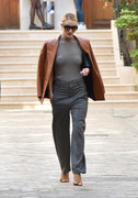 Rosie Huntington-Whiteley - Leaving her hotel in Paris 9/26/18