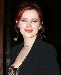 Bella Thorne - Heading to Live! With Kelly and Ryan in NYC 3/21/18