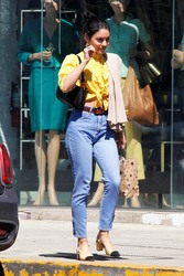 Vanessa Hudgens - Shopping in West Hollywood 3/14/19