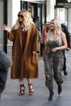 Kim & Khloe Kardashian - At Topanga Mall 1/11/18