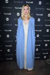 Elle Fanning - 'The Alienist' Premiere in Park City, Utah 1/19/18