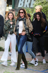 Cindy Crawford & Kaia Gerber - Out in Malibu 3/25/18