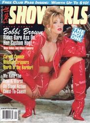 Déjà Vu Showgirls JANUARY 1994 - XXX Adult Magazine Scan