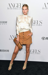 "Toni Garrn - ""ANGELS"" By Russell James Book Launch And Exhibit in NYC 9/6/18"