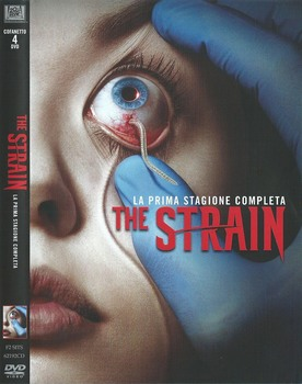The Strain  - stagione 1 (2014 2017) 4xDVD9 COPIA 1:1 ITA ING TED