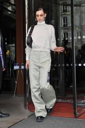 Bella Hadid - Out in Paris 2/28/19