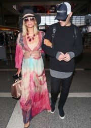 Paris Hilton - At LAX Airport 1/24/18