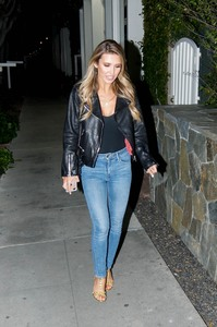 Audrina Patrdige - Out for dinner in Beverly Hills 3/23/19