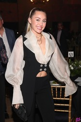 Miley Cyrus - My Friend's Place 30th Anniversary Gala in Hollywood 4/7/18