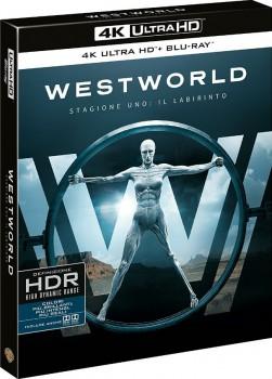 Westworld - Dove tutto è concesso - Stagione 1 (2016) [3-Blu-Ray] Full Blu-Ray 4K 2160p UHD HDR 10Bits HEVC ITA DD 5.1 ENG TrueHD 7.1 MULTI