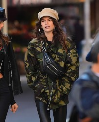 Kaia Gerber - Out in NYC 10/30/17