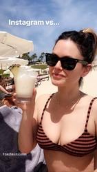 Rachel Bilson in a Bikini at a Beach - 3/16/19 Instagram Pics