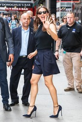Jennifer Garner - visits 'Good Morning America' in New York City, 7/16/2018