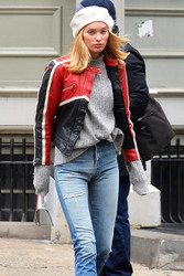 Elsa Hosk - Out in NYC 2/16/18