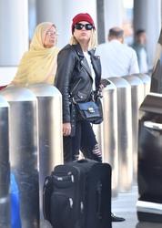 Ashley Benson - At LAX Airport 10/5/18