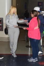 Iggy Azalea - At LAX Airport 1/27/18