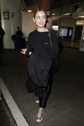 Lucy Hale - At LAX Airport 4/24/18