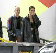 Kendall Jenner & Hailey Baldwin - Leaving MILK Studios in NYC 5/5/18