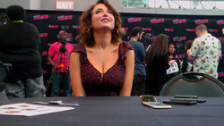 Milana Vayntrub Interviewed By The Geekiary at New York Comic Con in New York City - 10/6/18