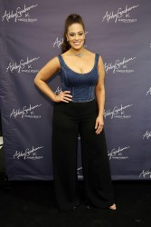 Ashley Graham - Ashley Graham x Marina Rinaldi SS18 Denim Capsule Collection Launch in NYC 2/8/18
