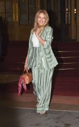 Kylie Minogue - Leaving her hotel in Paris 1/17/18