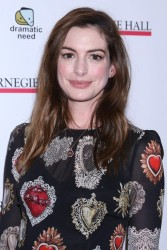 Anne Hathaway -         	The Children's Monologues Benefit New York City November 13th 2017.