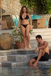 Kelly Brook Wearing a Bikini in Phuket, Thailand - 3/13/18