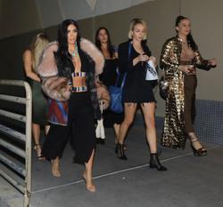 Kim Kardashian - Arriving at Cher's Concert in Las Vegas 5/4/18