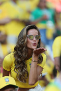 Izabel Goulart -                  Serbia vs Brazil World Cup Match Moscow June 27th 2018.