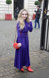 Sabrina Carpenter - Nina Ricci Fashion Show in Paris 3/2/18