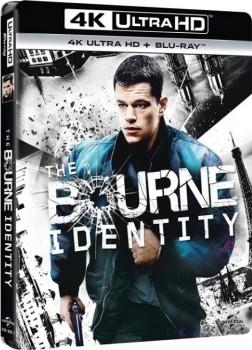 The Bourne Identity (2002) Full Blu-Ray 4K 2160p UHD HDR 10Bits HEVC ITA DTS 5.1 ENG DTS-HD MA 7.1 MULTI
