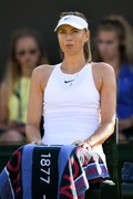 Maria Sharapova -            Wimbledon Tennis Championships London July 3rd 2018.