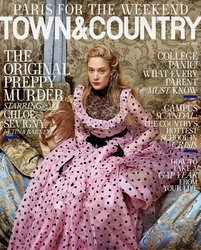 Chloe Sevigny -                      Town & Country Magazine August (2018).